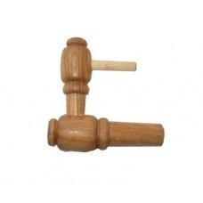 Кран деревянный для бочки